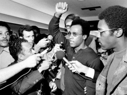 Huey Newton Black Panther Rusty Kennedy AP