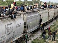 Illegal Immigration Train APEduardo Verdugo