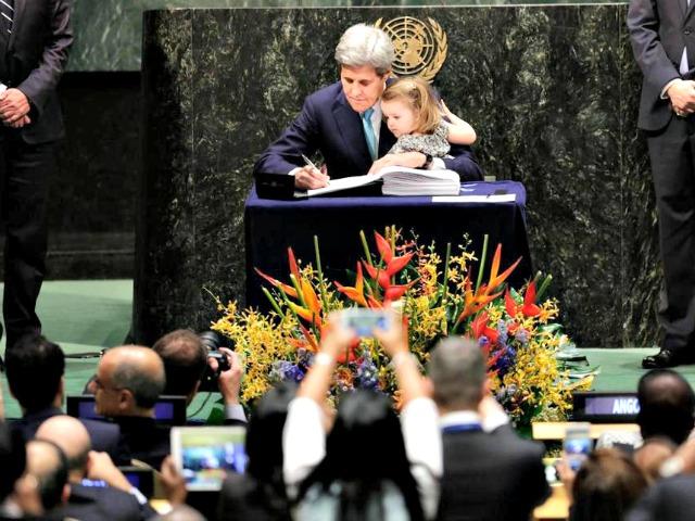 John Kerry Grandaughter APMark Lennihan