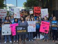 Kamala Harris resign rally (Breitbart News)