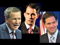 Kasich, Walker, Rubio AP Photos