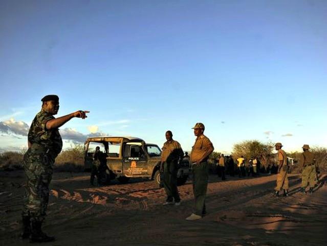 Kenya Building Wall AFP Getty