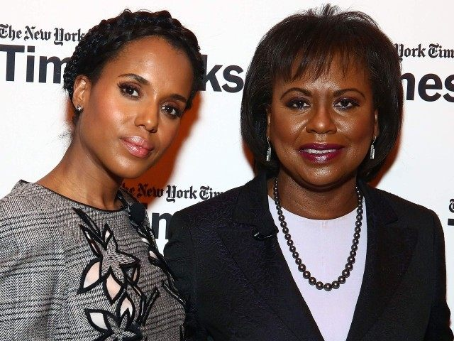 Kerry Washington and Anita Hill (Astrid Stawiarz / Getty)