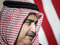 Foreign Minister Khalid bin Ahmed Al Khalifa