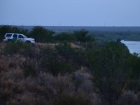Laredo Sector Agent Watching over Border