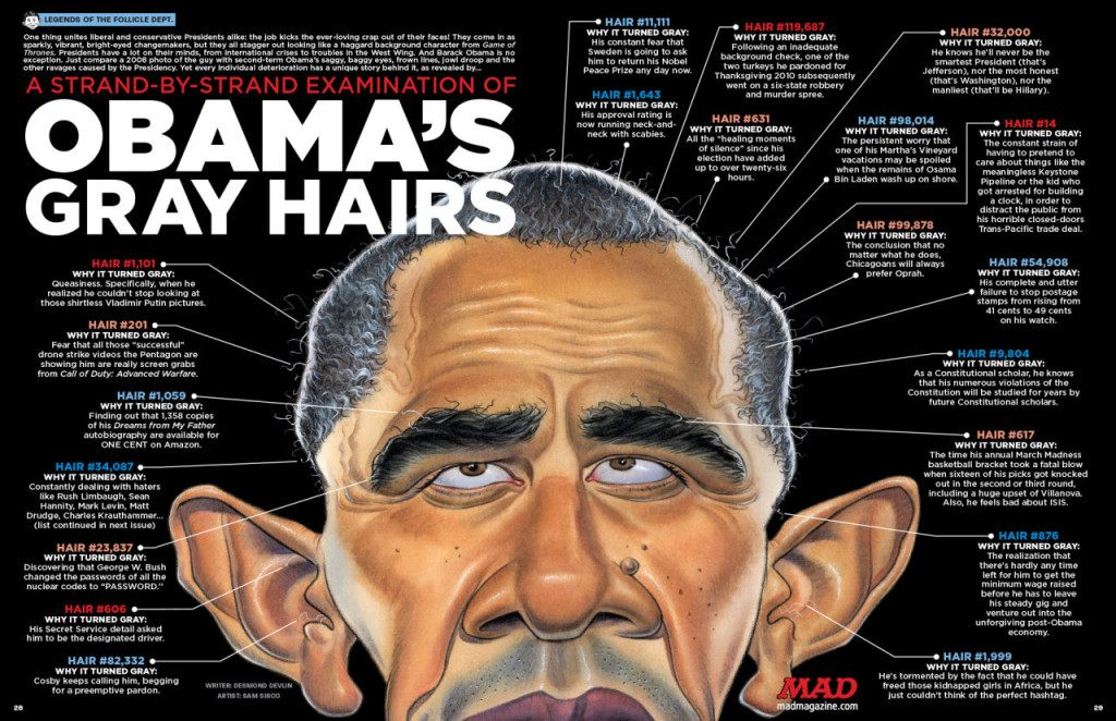 MAD 539 Obama Gray Hairs