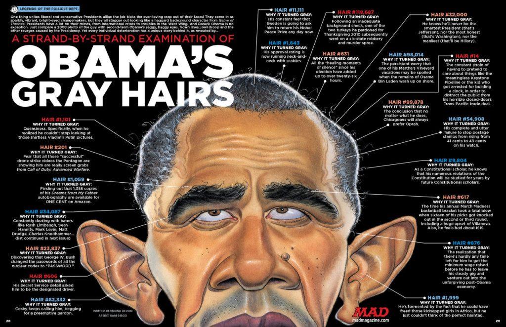 MAD 539 Obama Gray Hairs