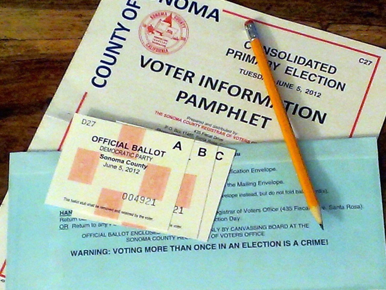 U0026 39 Vote By Mail U0026 39  Ballots Sent In California Primary
