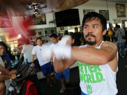 Islamic State Philippines Wing Planned to Kidnap Boxer Manny Pacquiao