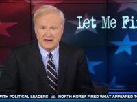 Watch: Matthews Enjoys Melania Trump's 'Runway Walk' On Hot Mic
