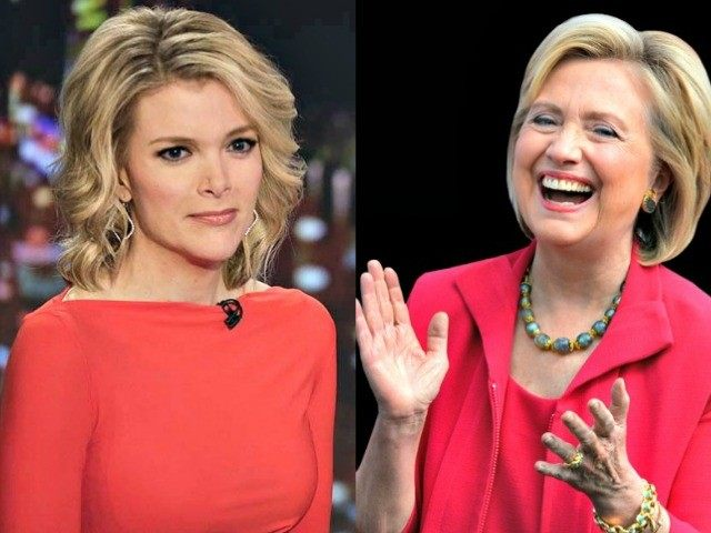 Megyn Kelly and Hillary Clinton in Red AP