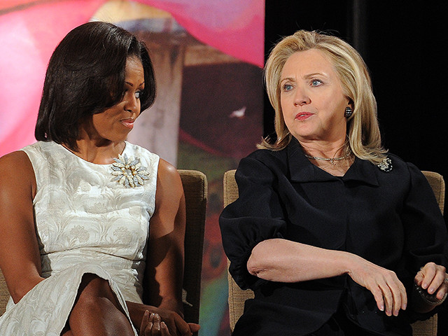 Michelle Obama usurps Hillary Clinton as America's most admired woman