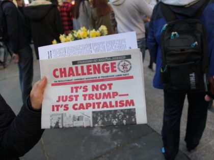 """Communists hand out hundreds of """"newspapers"""""""