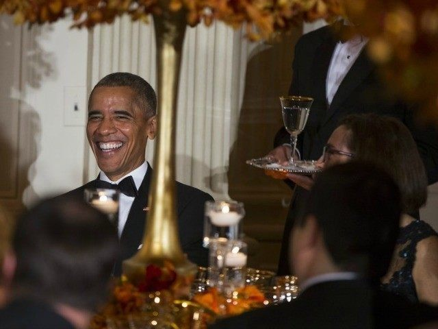 Obama Hollywood fundraiser Evan Vucci AP