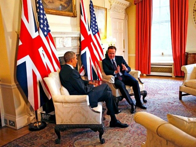 Obama and Cameron Getty