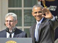 Obama and Merrick Garland Pablo Martinez MonsivaisAP