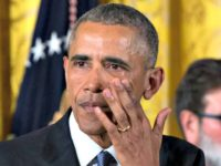 Obama weeps for gun control AP