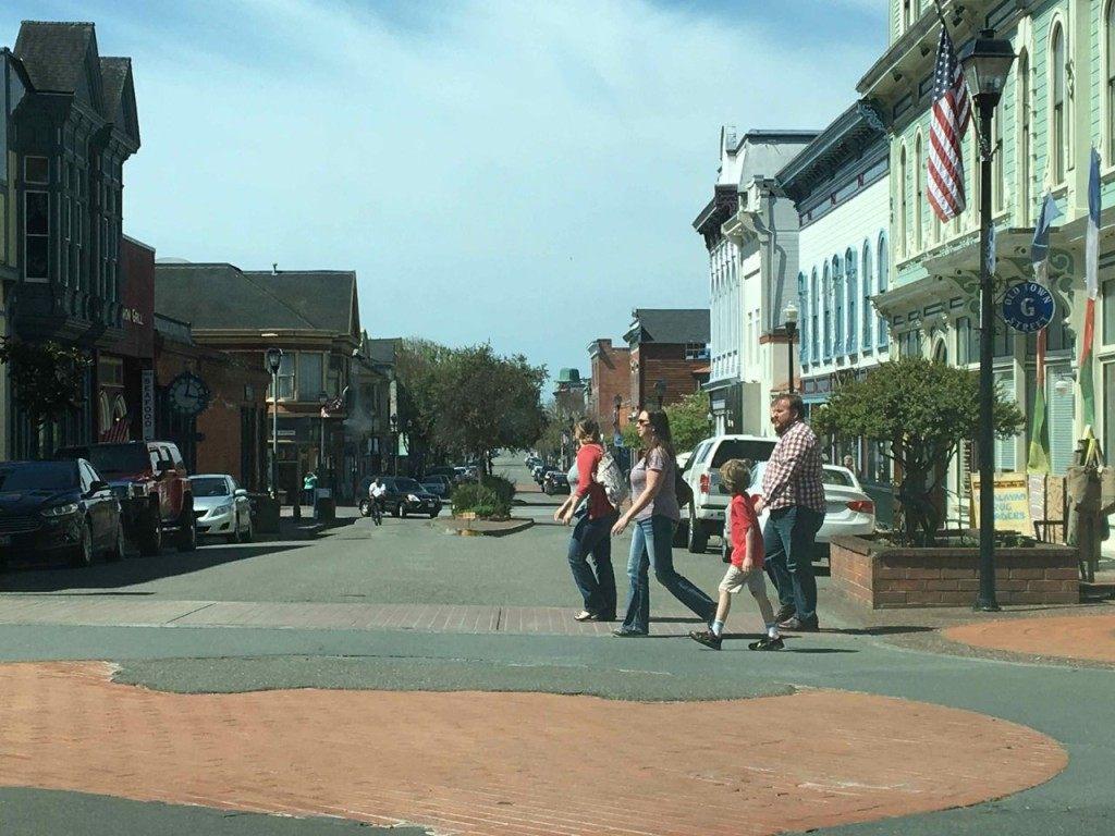 Old Town Eureka (Daniel Nussbaum / Breitbart News)