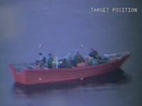 Panga boat (Screen shot / USCG)