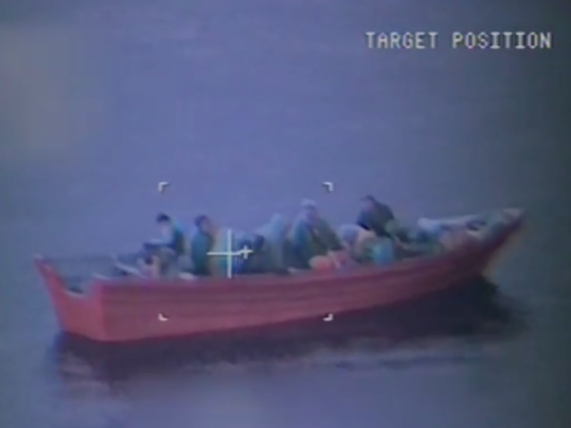 Panga boat (Screen shot / USCG)