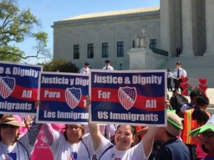 Photo tweeted by @LULAC on April 18, 2016 at US Supreme Ct