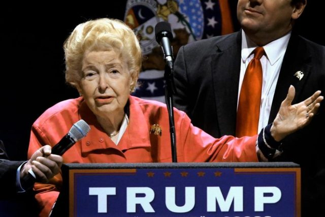 Phyllis Schlafly for Trump Seth PerlmanAP