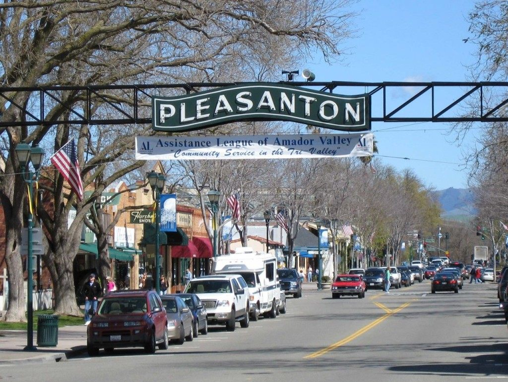 Pleasanton (Michael C. Berch / Wikimedia Commons)