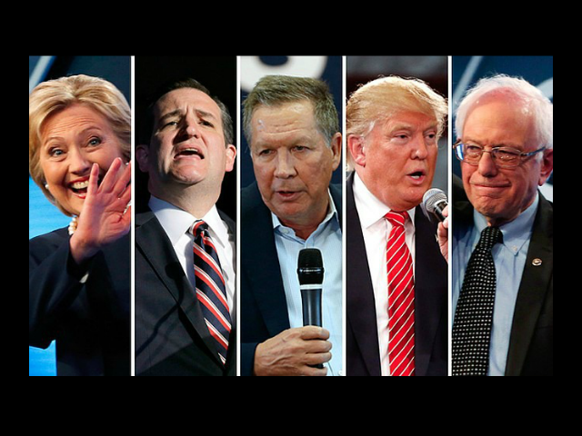 Presidential Candidates AP Photos