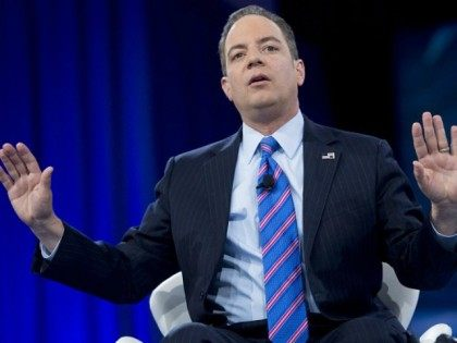 Reince Priebus, Chairman of the Republican National Committee (RNC), speaks during the annual Conservative Political Action Conference (CPAC) 2016 at National Harbor in Oxon Hill, Maryland, outside Washington, March 4, 2016.