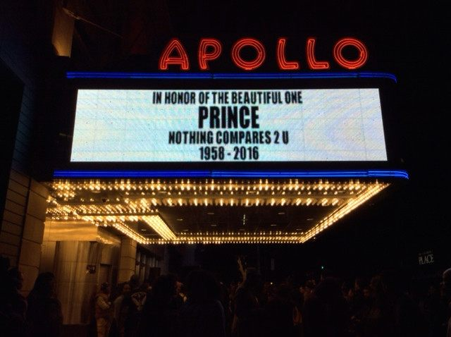 Prince Apollo Theater (Adelle Nazarian / Breitbart News)