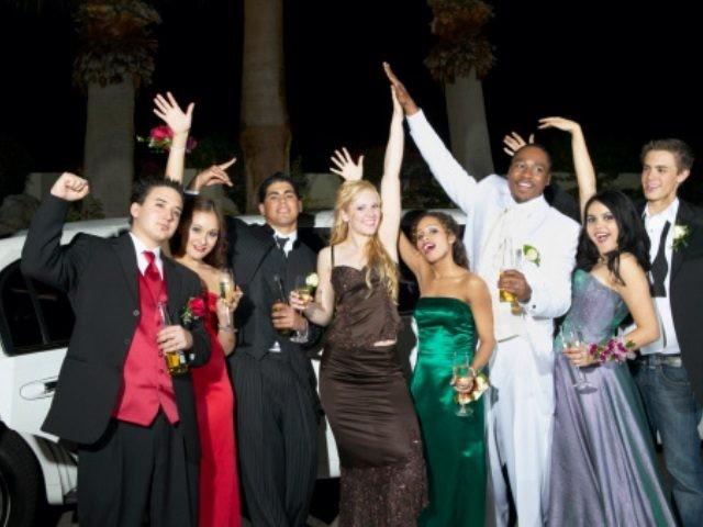 Prom night drinking