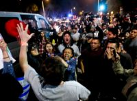 L.A. Times: Anti-Trump Protesters Block Traffic, Hurl Debris at Orange County Rally