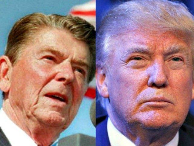 Reagan and Trump