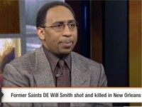 "On Monday's ""First Take"" on ESPN2, personality Stephen A. Smith …"