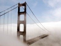 San Francisco Golden Gate Bridge fog (Justin Sullivan / Getty)