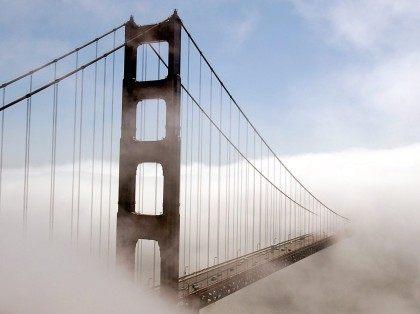 San Francisco Golden Gate Bridge fog (Justin Sullivan / Getty)