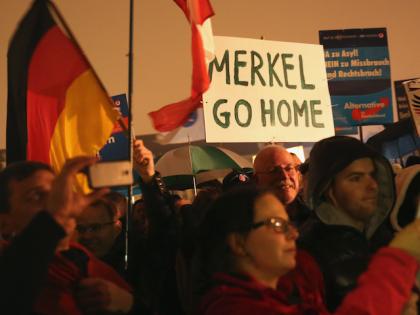 AfD Merkel Germany Migrants