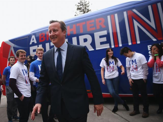 David Cameron Addresses University Students Over The EU Referendum