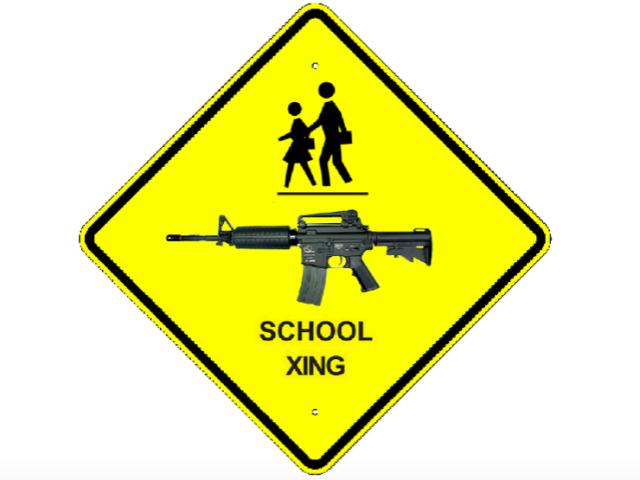 Guns in school (Mike Licht / Flickr / CC)
