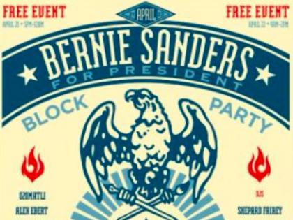 Bernichella - Bernie Sanders at Coachella (Bernie Sanders Block Party / Desert Sun)