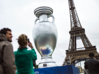 UEFA European Championship Eiffel Tower Paris football