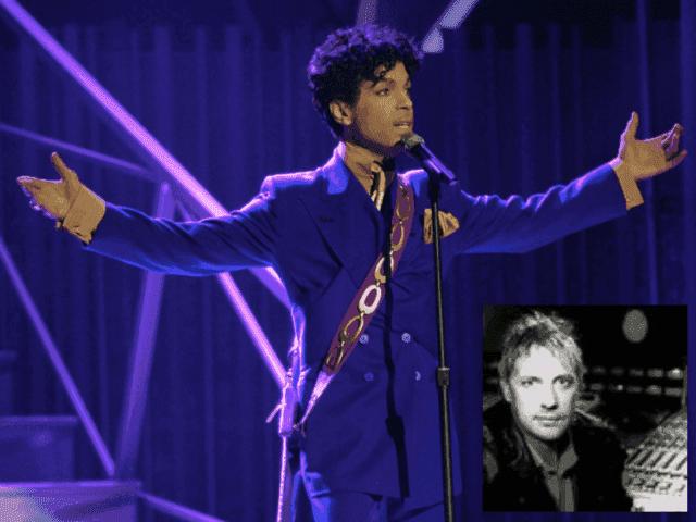 Prince and David Tickle (AP / David Tickle)