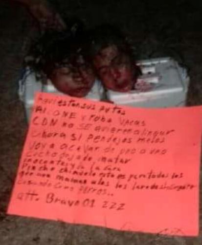 Los Zetas Beheading