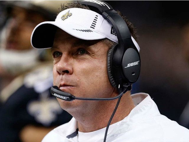 New Orleans Saints head coach Sean Payton watches from the sideline in the first half of an NFL football game against the Jacksonville Jaguars in New Orleans, Sunday, Dec. 27, 2015. (AP Photo/Jonathan Bachman)