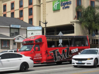 TMZ tour bus (Fraser McDonald / Facebook)