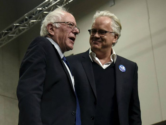 Tim Robbins and Bernie