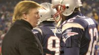 Trump Talks to Tom Brady AP