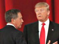 Trump and Kasich Backward AP