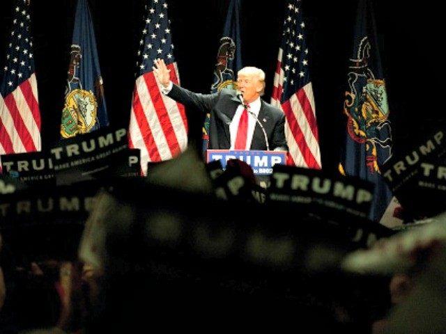 Trump in Pittsburgh Jeff Swensen Getty