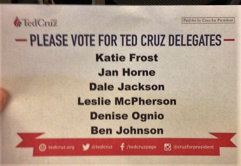 Vote Cruz Delegates